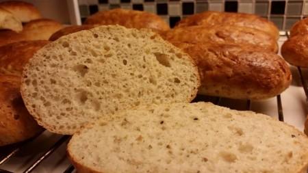 Glutenfrie rundstykker